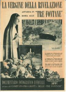 Vergine della Rivelazione giornale 1 RED